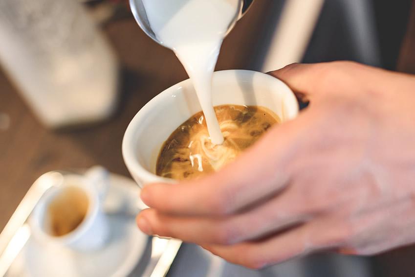 Milchersatz für Kaffee und Espresso