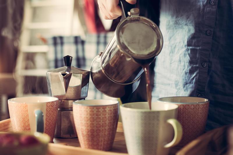 Wie viele Tassen Kaffee pro Tag?